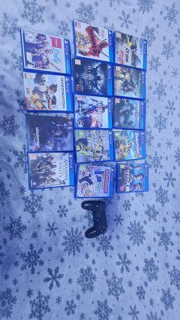 Vand jocuri PlayStation4 si 1 controller