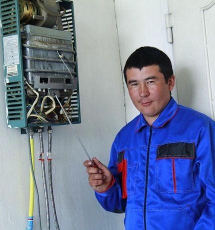 Ремонт газовых Колонок Котлов Плит Аристон Стиральных водонагревателя