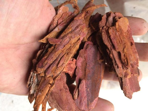 мульча (кора) сибирская лиственница в мешках по 60 литров