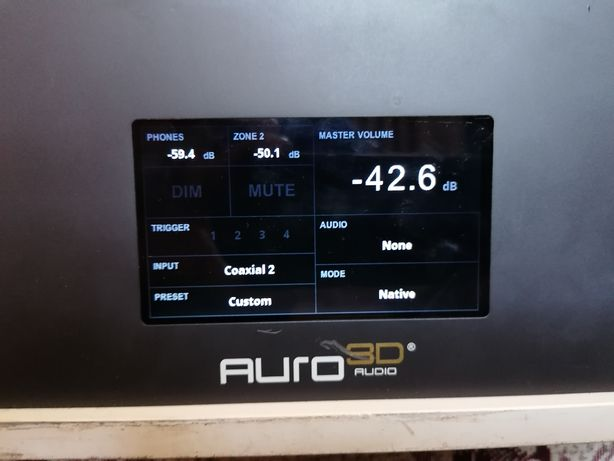 AURO 3D auriga av receiver