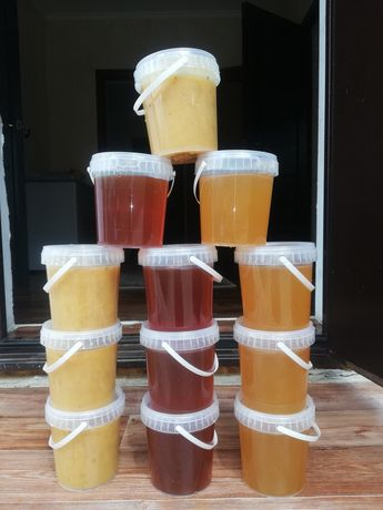 Мёд акация майский мед бал Катон Карагайский мёд