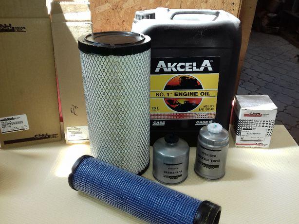 Schimb de ulei si filtre pentru tractoare si combine Case (livrare)