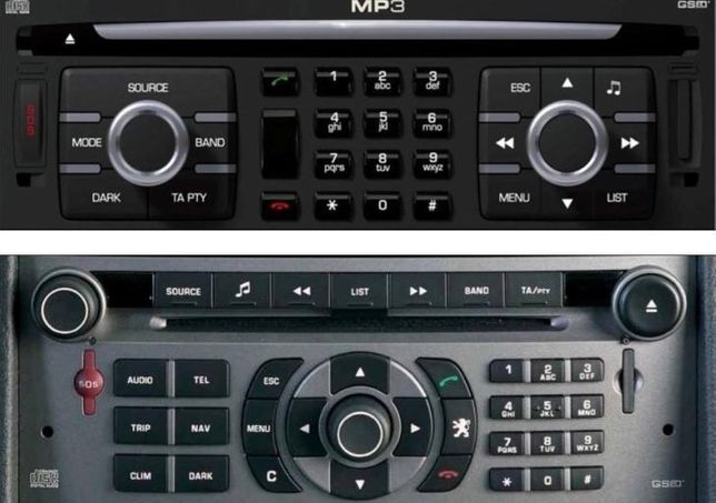 Harti GPS 2018 Fiat Lancia PEUGEOT 206,207,307, 407;CITROEN RT3 C3,C4