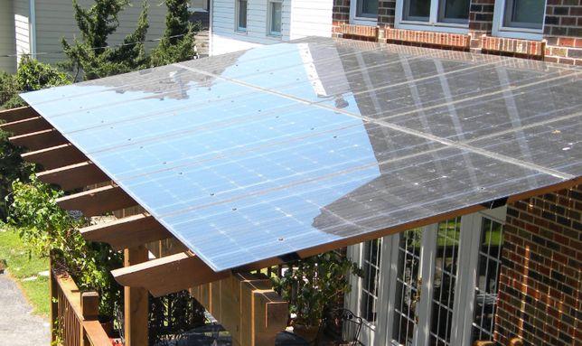 Terasa sticla fotovoltaica 20 mp