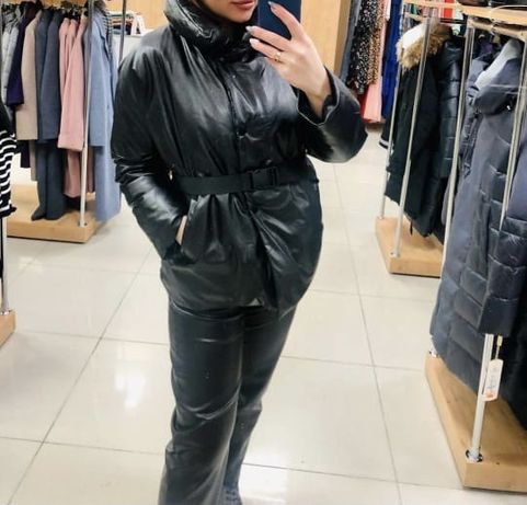 Куртка из эко кожи
