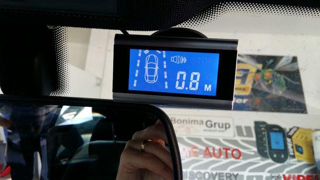 Senzori parcare cu display,oglinda,fata-spate,camera mars