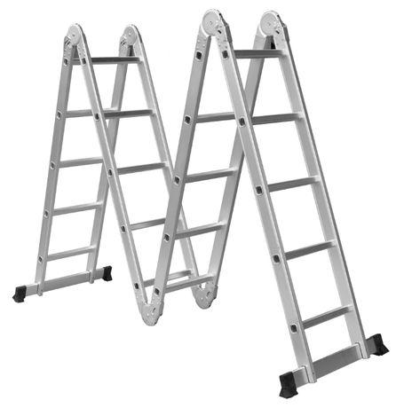 Лестница трансформер шарнирная 5 ступеней