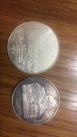 Monede medali argint
