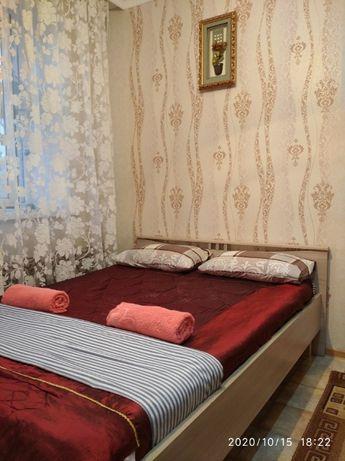 Сдам 1ком квартиру на ночь, посуточно на Мусрепова7/2 район Нацгварди