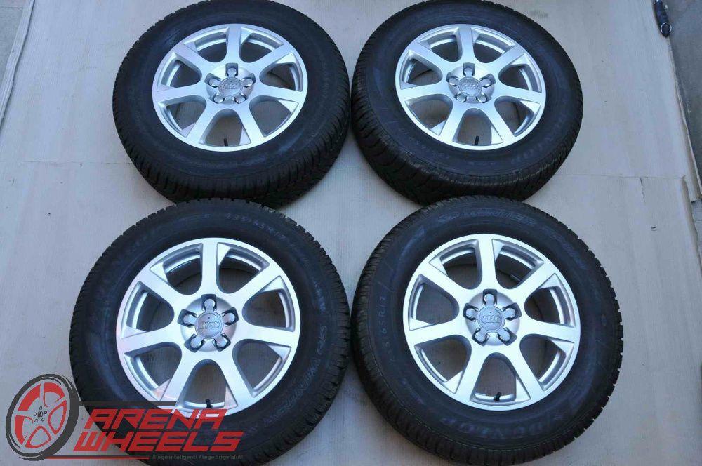 Roti Iarna 17 inch Originale Audi Q5 8R Dunlop 235/65 R17 Bucuresti - imagine 1
