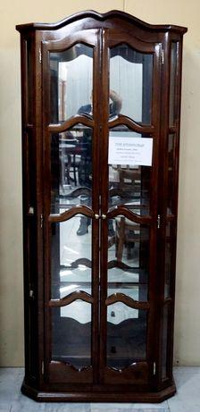 Двойна витрина ЛУКС със осветление Мебели РУМ Кремиовци