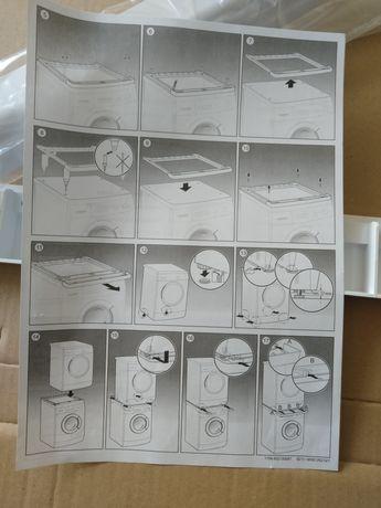 Suport pentru mașină de spălat și uscător.