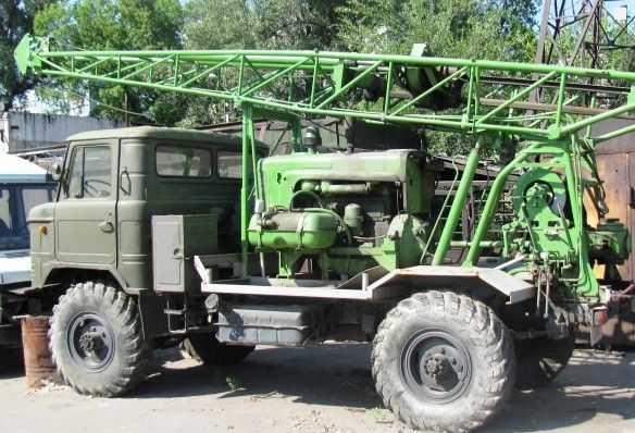 Продам буровую установку УГБ-50М на базе Газ 66