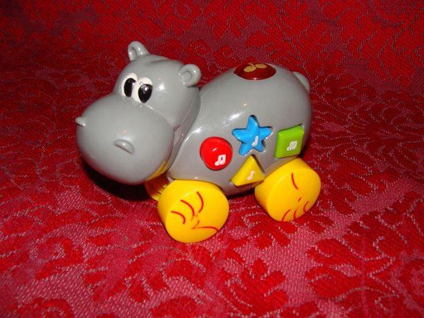 Jucarie muzicala hipopotam