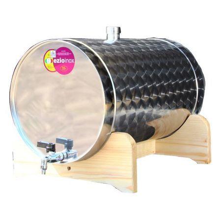Butoi inox vin Provence 25 litri - Butoaie INOX Depozitare + Transport