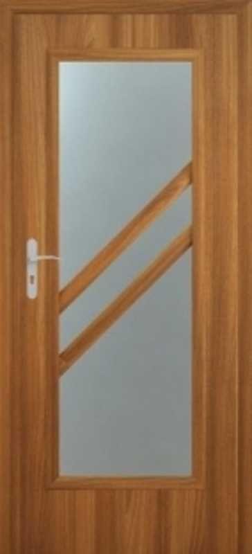 Интериорна врата със стъкло, на склад - от Борман