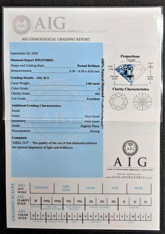 Diamant Natural cu certificat