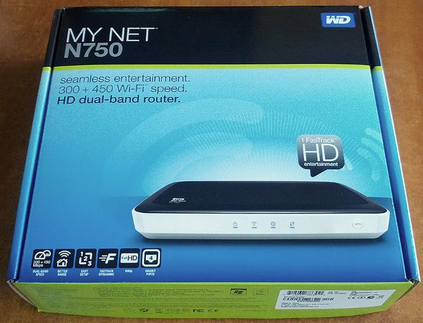Router dual band wireless Western Digital WD N750