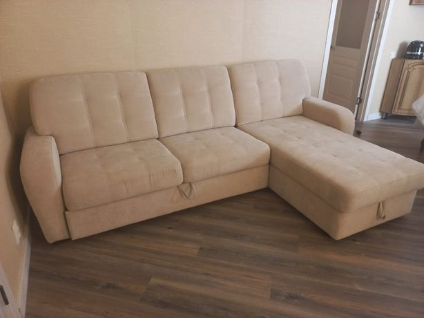 Продам раскладной диван и кресло