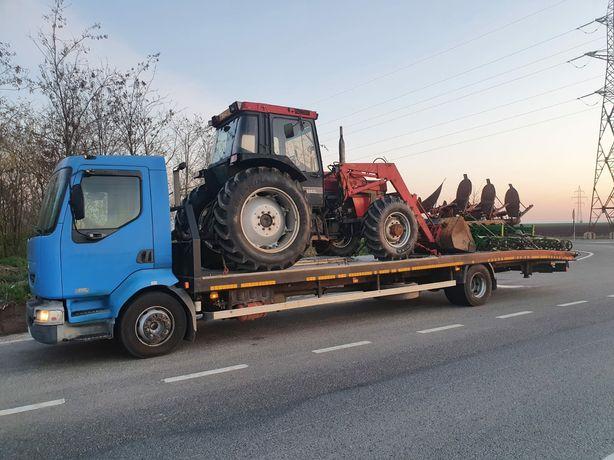 Transport Utilaje agricole și de construcții platforma
