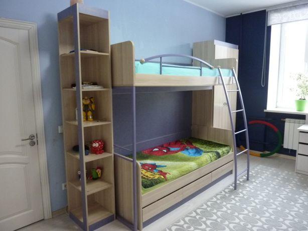Продам детский спальный гарнитур «Индиго» от фабрики ТриЯ (Россия)