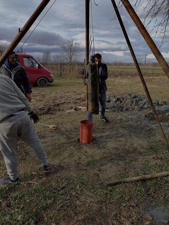 Foraje puțuri piloni și denisipari Brașov