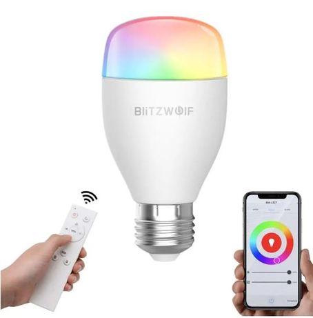 Bec inteligent LED RGB White control telecomanda Wireless ALEXA Google