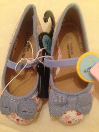 затворени обувки момиче размер 19 и 21