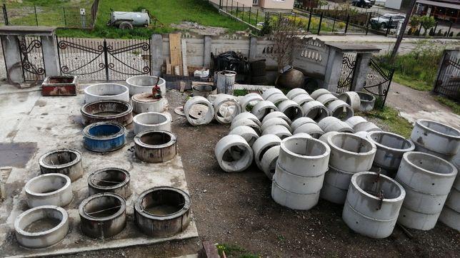 Tuburi pentru fântână de beton