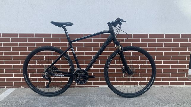 Scott Sub Cross 10 Shimano XT T8000 RockShox bicicleta oras hybrid