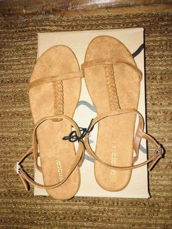 Велурени сандали 41
