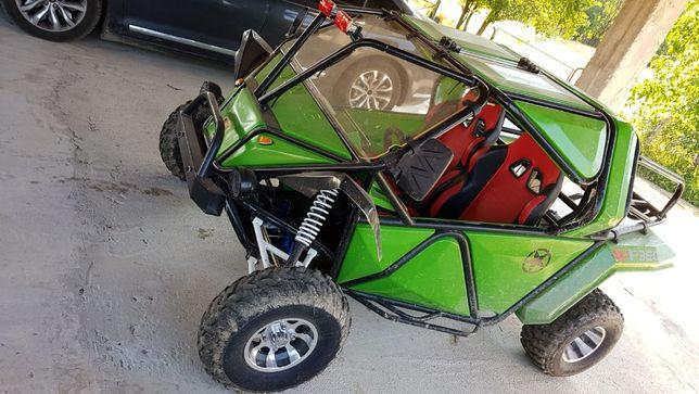 Buggy ATV culoare verde