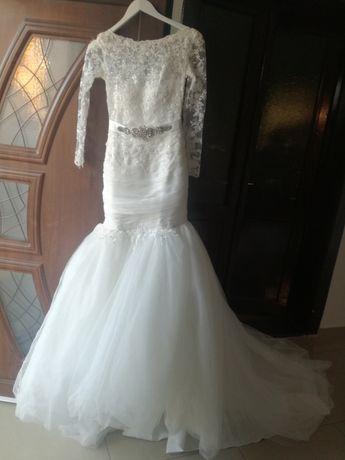 rochie de mireasa S + cerc