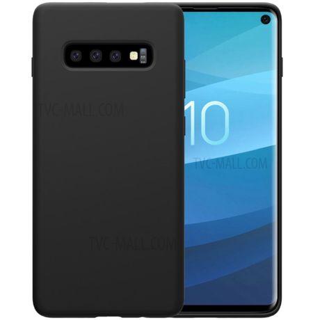 Samsung S10E S10 S10 Plus - Husa Ultra Slim Silicon Neagra / Transpare