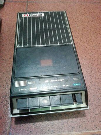 hitachi trq-258r ретро радио касетофон