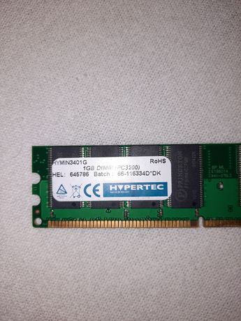 Memorie Ram Pc Calculator 1GB DIMM PC 3200 Hypertec