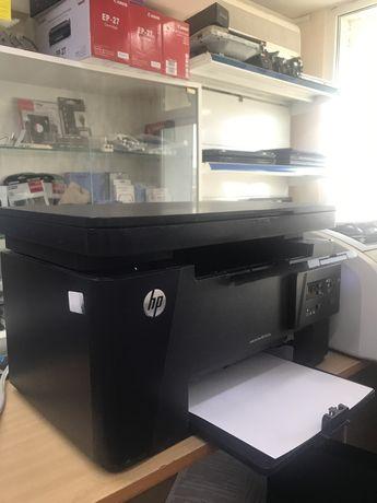 Один из Лучших черно-белых МФУ 3в1 принтер-копир-сканер HP Laserjet M1