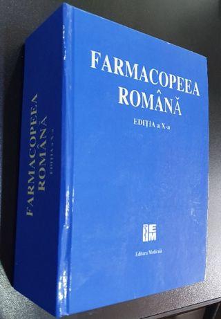 FARMACOPEEA Romana Editia a X-a