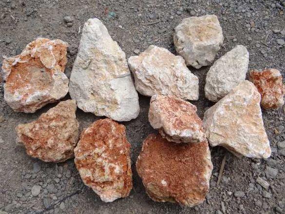 камъни за Декорация, за ГАБИОНИ и др.- 22 лв.тон за кафеникав ЧАКЪЛ