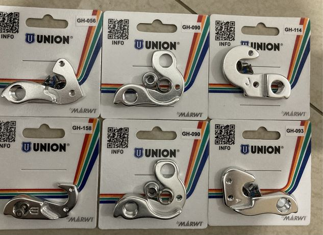 Urgent - Oferta - lot urechi prindere schimbator bicicleta Union GH