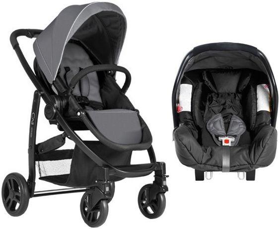 Комбинирана детска количка GRACO Evo 2в1 Charcoal