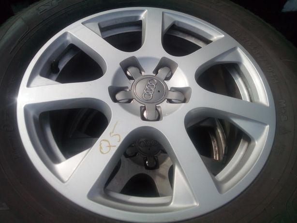 """Jante originale Audi Q5, 17""""cu anvelope de iarnă Oferta !"""