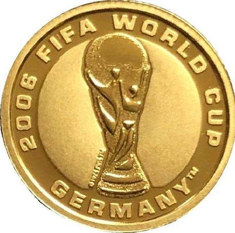 Златна монета 2006 FIFA World Cup Германия