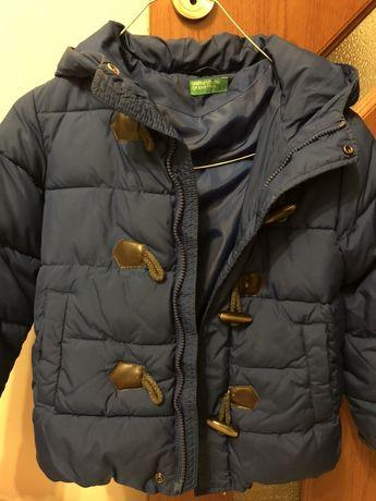 Зимно яке Бенетон,есенни якета Некст и ЛС Уйакики-6-7 год.