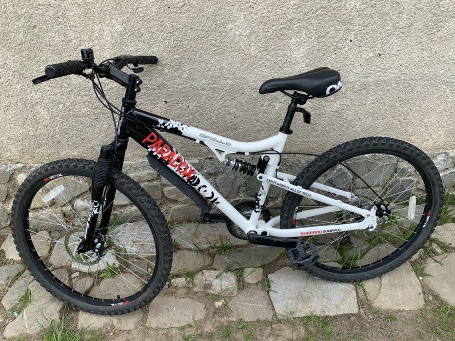 Bicicleta mtb mountainbike suspensie dubla Valea Doftanei - imagine 1