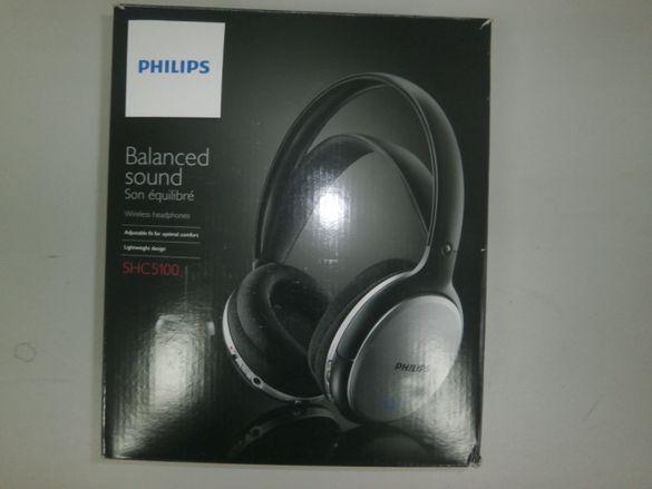 Безжични слушалки Philips SHC5100 - wireless