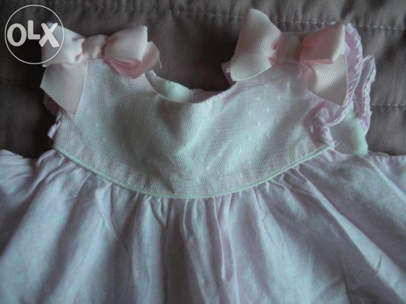 Летни рокли за малки принцеси - 2 броя
