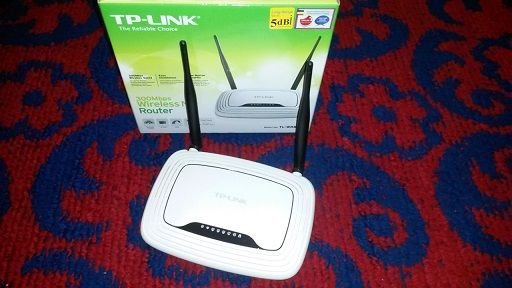 Router wireless N300 TP-LINK TL-WR841N (RO), 300Mbps, WAN, LAN, a