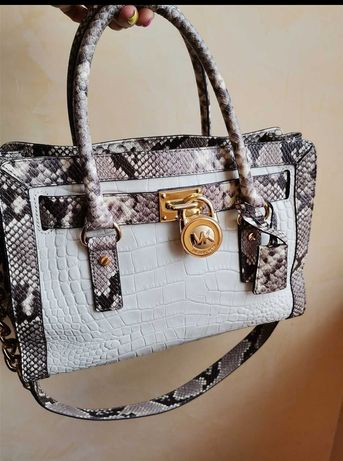 Чанта Michael Kors $398 уникат естествена кожа