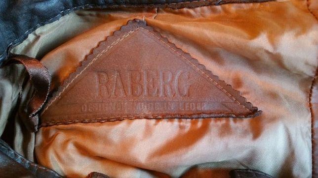 Pantaloni piele naturala Raberg